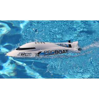 "Proboat Jet Jam 12"" Pool Racer, White: RTR - In Stock Now!"