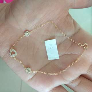 18k SD gold bracelete