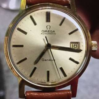OMEGA 18K FULL GOLD AUTOMATIC (實金)(SWISS made) Watch