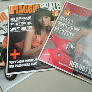 Piaggio/Vespa Service/Repair Manual & Old Piaggio/Vespa Magazines