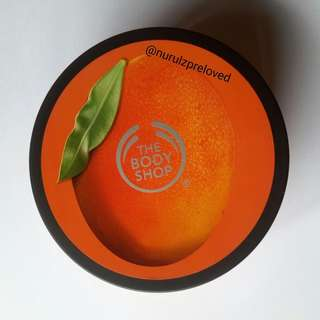 #CNY2018 The Body Shop body butter mango 200ml