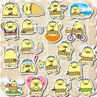 Chicky Fest Scrapbook / Planner Stickers #73