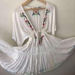 Tree of life flowy dress