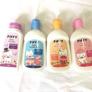 FIFFY TOILETRIES GIFT SET (4 bottles)
