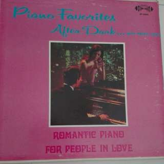 Piano Favourite After Dark Vinyl LP Record