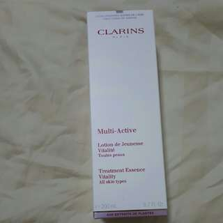 Clarins multi active lotion