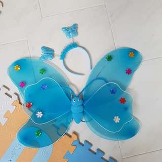 Butterfly cosplay wings and headband