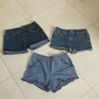 Shorts for girl 7-9