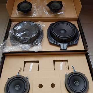 BMW 1 Series F20 LCI Original speakers