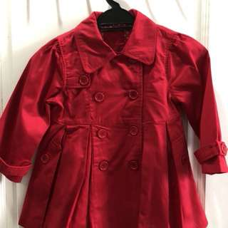 Red coat age:4-6