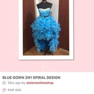 2n1 Prom dress
