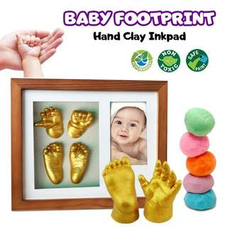 Baby handfoot print with photo