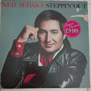 Neil Sedaka Stepping Out Vinyl LP Record