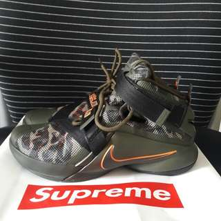 Nike lebron 9 soldier camo basketball shoes