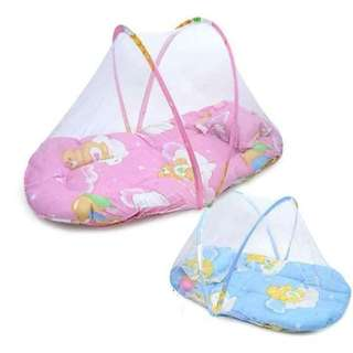 Baby net with bed