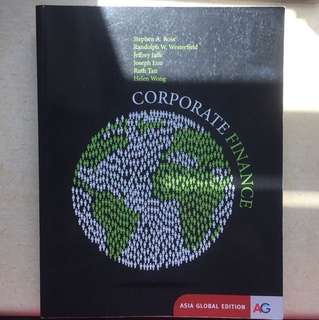 Corporate finance / FIN2004X / FIN3101 textbook