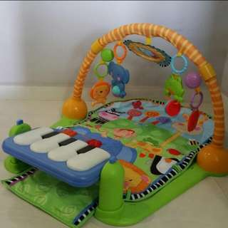 Baby Playmat with kick & play piano (by Fisher Price)