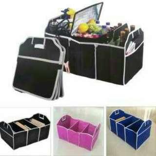 Car Trunk Cargo Storage Organizer Box Lockers Bag High Capacity
