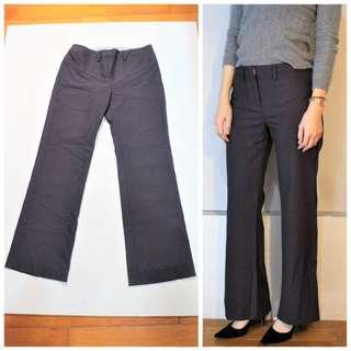 土耳其製 KOOKAI 暗紫色修身長褲 KOOKAÏ