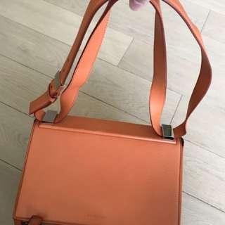 Givenchy Pandora box 橙色大size 袋 側咩袋 女裝