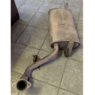 Toyota Wish 2008 Exhaust Pipe