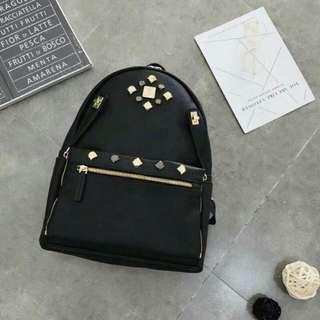 MCM Backpack full black