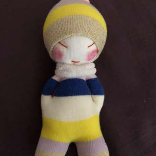Little Francesca (Handmade) Sock Doll