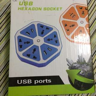 USB Hexagon Socket