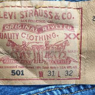 501 levis made in usa