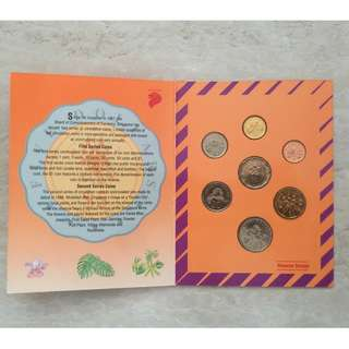 1992 Singapore Circulated Coin Set
