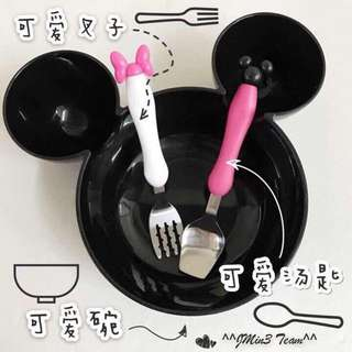 Mickey Bowl Set