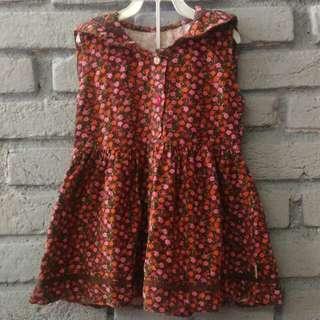 Baju dress bayi 1,5 - 3 tahun