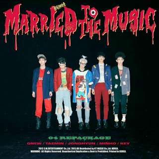BN Shinee Married To The Music Album