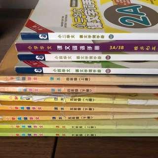 FREE - P2, P3, P4, P5 & P6 Chinese Textbook / Handbook