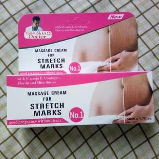 Massage Cream for Stretch Marks