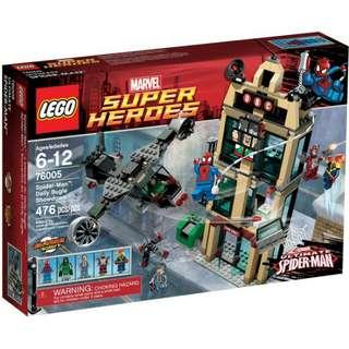 全新Lego 76005 Spiderman : Daily bugle showdown
