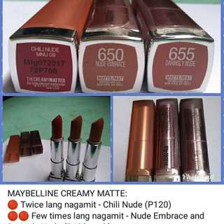 Maybelline Creamy Matte