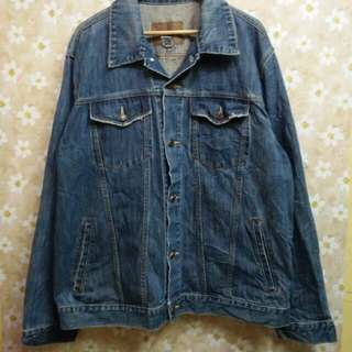 Old Navy Men Denim Jacket Reprice