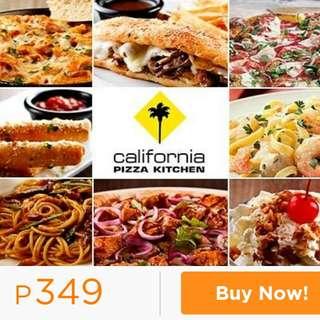 California Pizza Kitchen Vouchers