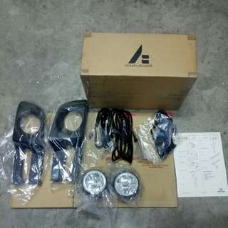 Old School Honda Streem Fog Lamp Set ( Original Honda Access , Made In Japan )  Model:RN1 2002∼2005