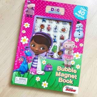 Doc McStuffins magnet book