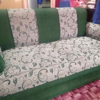 Sofa set with two side sofas