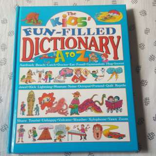 The kids fun-filled dictionary A to Z