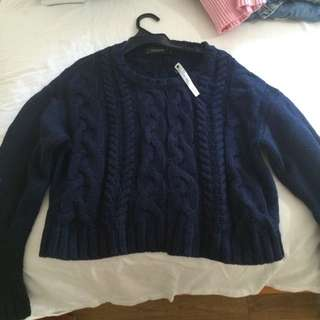 Glassons Cropped Knit Jumper