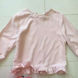 Baju kerja wanita size s pink muda baju msh bagus jrg pakai