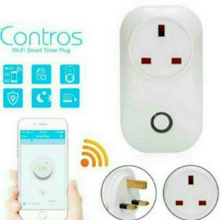 In Stock Brand New WIFI Wireless Remote Control Smart Home Power Socket Plug UK Crypto Mining Rig