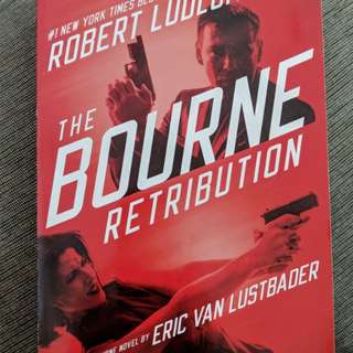Used copy of The Bourne Retribution