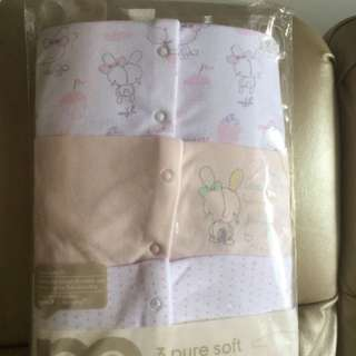 BNIP Mothercare 9-12mths sleepsuits