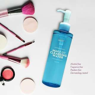 Makeup cleansing water