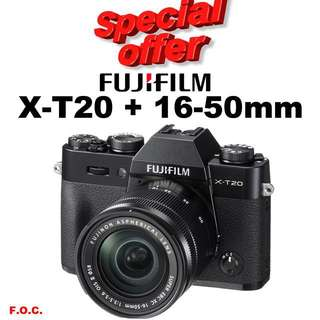 Fujifilm X-T20 16-50mm kit